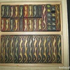Antigüedades: IMPRENTA - ORLAS DE PVC - MEDIADOS SIGLO XX - ORLA 1. Lote 295769713