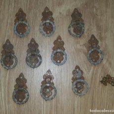 Antigüedades: TIRADORES PARA MUEBLES. Lote 295774238