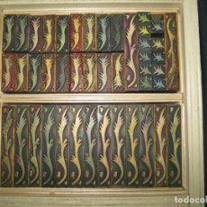 Antigüedades: IMPRENTA - ORLAS DE PVC - MEDIADOS SIGLO XX - ORLA 2. Lote 295790008