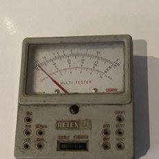 Antigüedades: MULTI-TESTER MT-1 DE RETEX . FUNCIONA. AÑOS 1968. Lote 295802268
