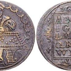 Antigüedades: FICHA DE CÁLCULO DE LATÓN RECHENPFENNIG / SCHULMEISTERPFENNIG - SCHULTES, HANS (1586-1603). Lote 295848408