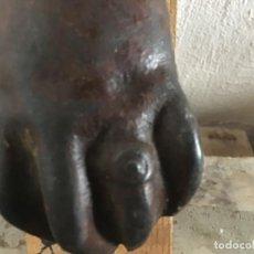 Antigüedades: ANTIGUO Y GRANDE PICAPORTE LLAMADOR DE HIERRO.ORIGINAL.. Lote 295901433