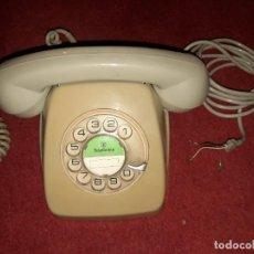 Teléfonos: TELÉFONO HERALDO DE SOBREMESA, DE LOS AÑOS '70, EN COLOR GRIS, CON MARCADOR DE DISCO.. Lote 295936373