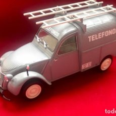 "Teléfonos: FURGONETA CITROEN 2CV ""TELÉFONOS"", ESCALA 1:24, DE LA CTNE, ACTUAL TELEFÓNICA.. Lote 296713458"