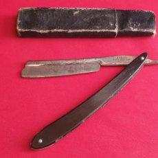 Antigüedades: RARA NAVAJA DE AFEITAR BARES GARGASSONN ANTIGUA. Lote 296825308