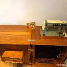 Antigüedades: MAQUINA DE COSER ALFA 103-3 MUY BUEN ESTADO. Lote 296836723