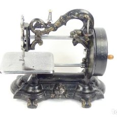 Antigüedades: WOW!! MAQUINA DE COSER NEWTON WILSON CLEOPATRA 1867 SEWING MACHINE NAHMASCHINE. Lote 296840498