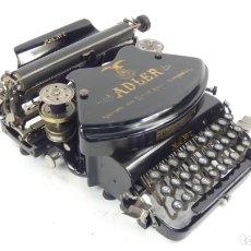 Antigüedades: MAQUINA DE ESCRIBIR ADLER Nº7 AÑO 1900 TYPEWRITER SCHREIBMASCHINE ECRIRE. Lote 296852018