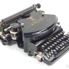 Antigüedades: MAQUINA DE ESCRIBIR ADLER Nº7 AÑO 1900 TYPEWRITER SCHREIBMASCHINE ECRIRE. Lote 296853448