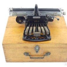 Antigüedades: MAQUINA DE ESCRIBIR PICHT BRAILLE AÑO 1899 TYPEWRITER SCHREIBMASCHINE A ECRIRE. Lote 296866628