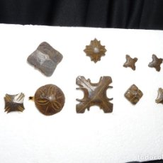 Antigüedades: LOTE 9 CLAVOS. SIGLOS XVII Y XVIII, HIERRO FORJA. Lote 297025653