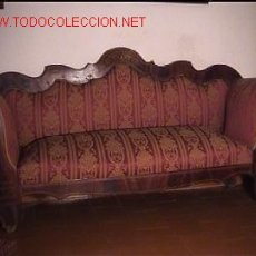 Antigüedades: SOFA ISABELINO. Lote 23034409