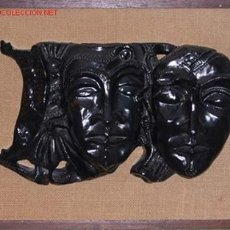 Antigüedades: FIGURA REPRESENTANDO DOS CARAS DE LA ARTISTA VASCA MARGALL, ENVIO CERTIFICADO GRATIS. Lote 348360