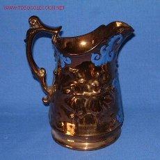 Antigüedades: OFERTA ESPECIAL!!! ANTIGUA Y GRAN JARRA INGLESA DE LUSTRE BRISTOL , S XIX . 20 CM. Lote 26994470