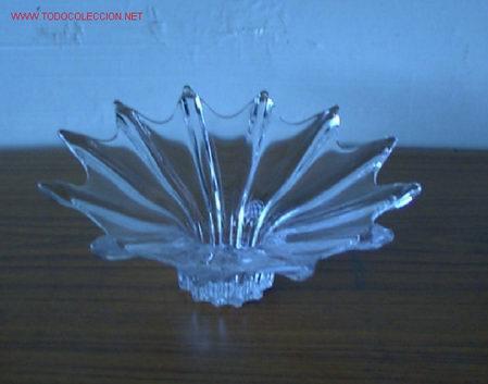 CENTRO DE CRISTAL .. MANNES CRISTAL (Antigüedades - Cristal y Vidrio - Otros)