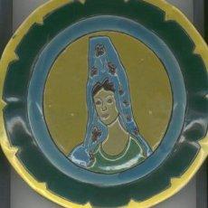 Antigüedades - Plato de Ceramica Triana (Sevilla) - 25013291