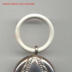 Antigüedades: SONAJERO DE PLATA ANTIGÜO. Lote 26782106