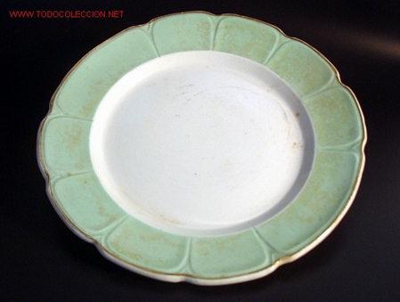 SAN CLAUDIO - OVIEDO - FUENTE (Antigüedades - Porcelanas y Cerámicas - San Claudio)