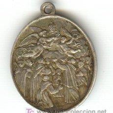 Antigüedades: RARA MEDALLA PAPAL VATICANO SOBRE LOS 19 MÁRTIRES DE GORCUM HOLANDA 3 DE JULIO 1867 SU CANONIZACIÓN. Lote 23451484