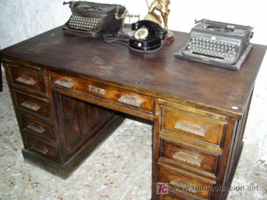 mesa de oficina - Comprar Mesas de Despacho Antiguas en ...