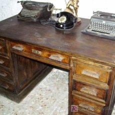 Antigüedades: MESA DE OFICINA. Lote 3363055