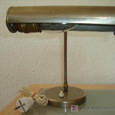 Antigüedades: LAMPARA DE MESA TIPO OFICINA ANTIGUA. Lote 3387307