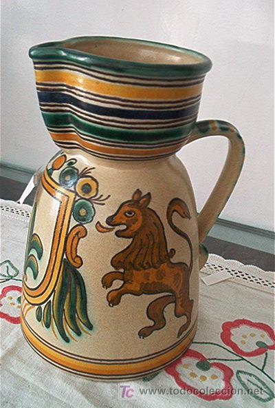 JARRA PUENTE ARZOBISPO (Antigüedades - Porcelanas y Cerámicas - Puente del Arzobispo )