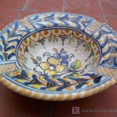 Antigüedades: BONITO CENICERO DE TALAVERA. Lote 20317161