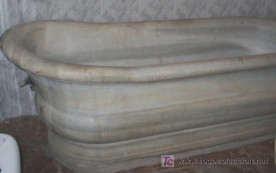 Ba era antigua de marmol blanco comprar antig edades for Baneras antiguas precios