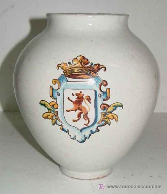 Antiguo jarron de ceramica de talavera de la re comprar - Talavera dela reina ceramica ...