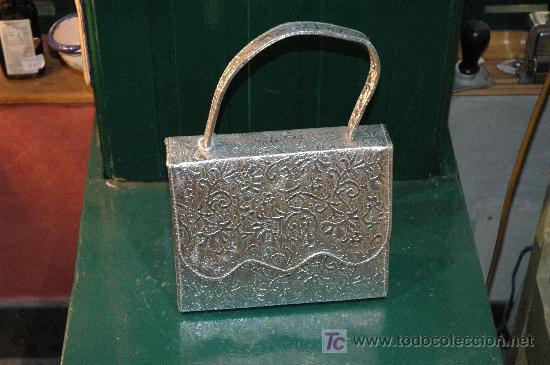 BOLSO KITCH IMPECABLE (Antigüedades - Moda - Bolsos Antiguos)
