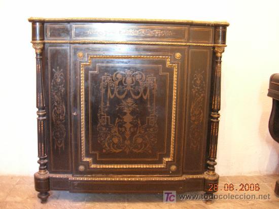 Antigüedades: Magnifico mueble II Imperio - Foto 2 - 4795977