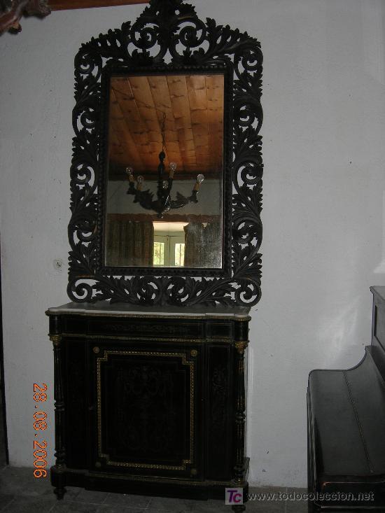 Antigüedades: Magnifico mueble II Imperio - Foto 3 - 4795977