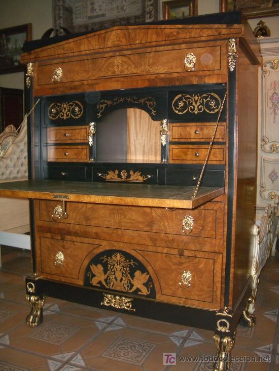 Extraordinario bureau buro escritorio recibidor comprar - Mesas de recibidor antiguas ...