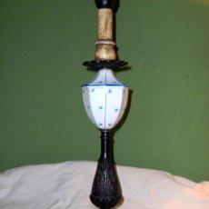 Antigüedades: PIE DE LAMPARA. Lote 3707366