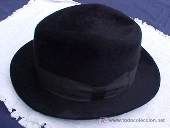6f360041589ea Sombrero de hombre de los años 40 fieltro 100% - Vendido en Venta ...