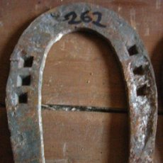 Antigüedades: HERRADURA DE FORJA. Lote 4080786