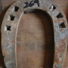 Antigüedades: HERRADURA DE FORJA. Lote 4080862