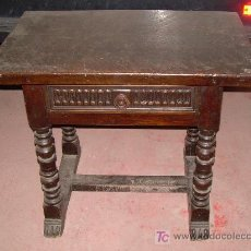 Antigüedades: MESA DE NOGAL. Lote 4229183