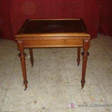 Antigüedades: MESA DE JUEGO. Lote 26568775