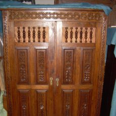 Antigüedades: HERMOSO ARMARIO. Lote 4395069