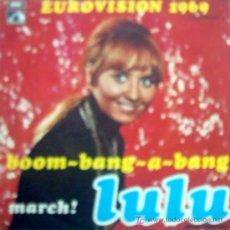 Discos de vinilo: LULU , EUROVISION 1969. Lote 23919855