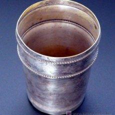 Antigüedades: VASO EN METAL PLATEADO - PP. S. XX. Lote 4939968
