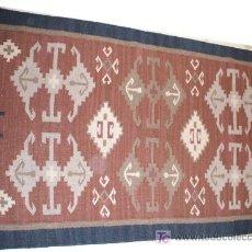 Alfombra india de algodon y lana hecha a mano comprar for Alfombras de algodon indias