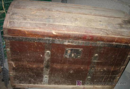 Ba l de 49x40x70 cms con cerradura sin llave comprar - Restaurar baules antiguos ...