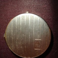 Antigüedades: POLVERA ART-DECO FRANCESA EN METAL. Lote 4636549
