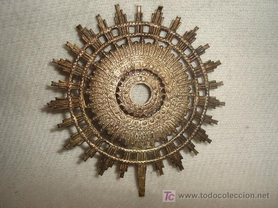 CORONA DE LA VIRGEN DEL PILAR. (Antigüedades - Religiosas - Orfebrería Antigua)