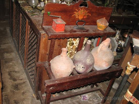 CANTARERA RUSTICA VASIJAS NO INCLUIDAS (Antigüedades - Hogar y Decoración - Maceteros Antiguos)