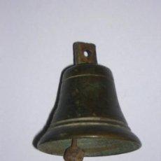 Antigüedades: ANTIGUA CAMPANITA DE BRONCE . Lote 26784950