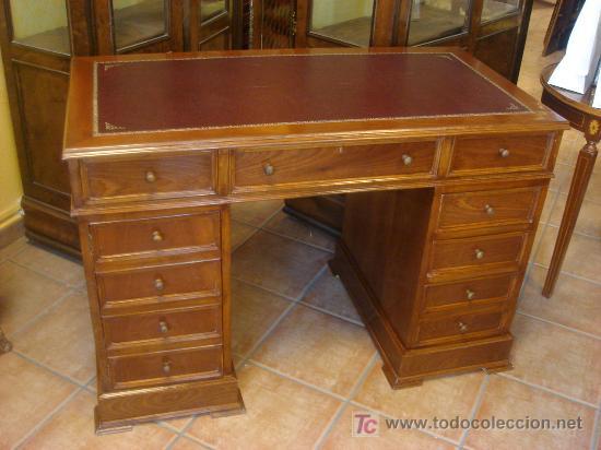 Elegante mesa de despacho estilo ingles comprar mesas de despacho antiguas en todocoleccion - Mesas de despacho segunda mano ...